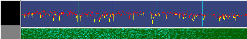 "Graph and waterfall for SSTV software should show modulation capture but not ""overload"" and REMEMBER bandwidth filter must be 3 kHz or GREATER !!"
