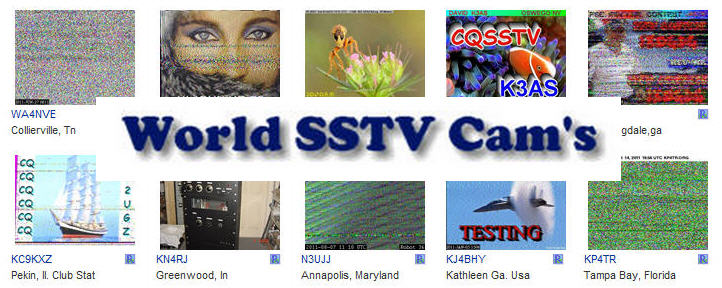"KE5RS' ""World SSTV Cams' collects current images from stations all over the world."